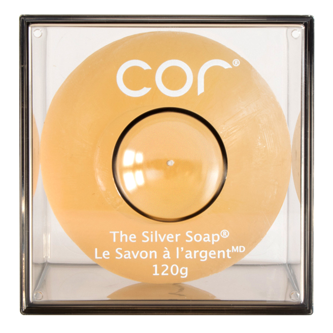 The Silver Soap 120g Size from cor Silver